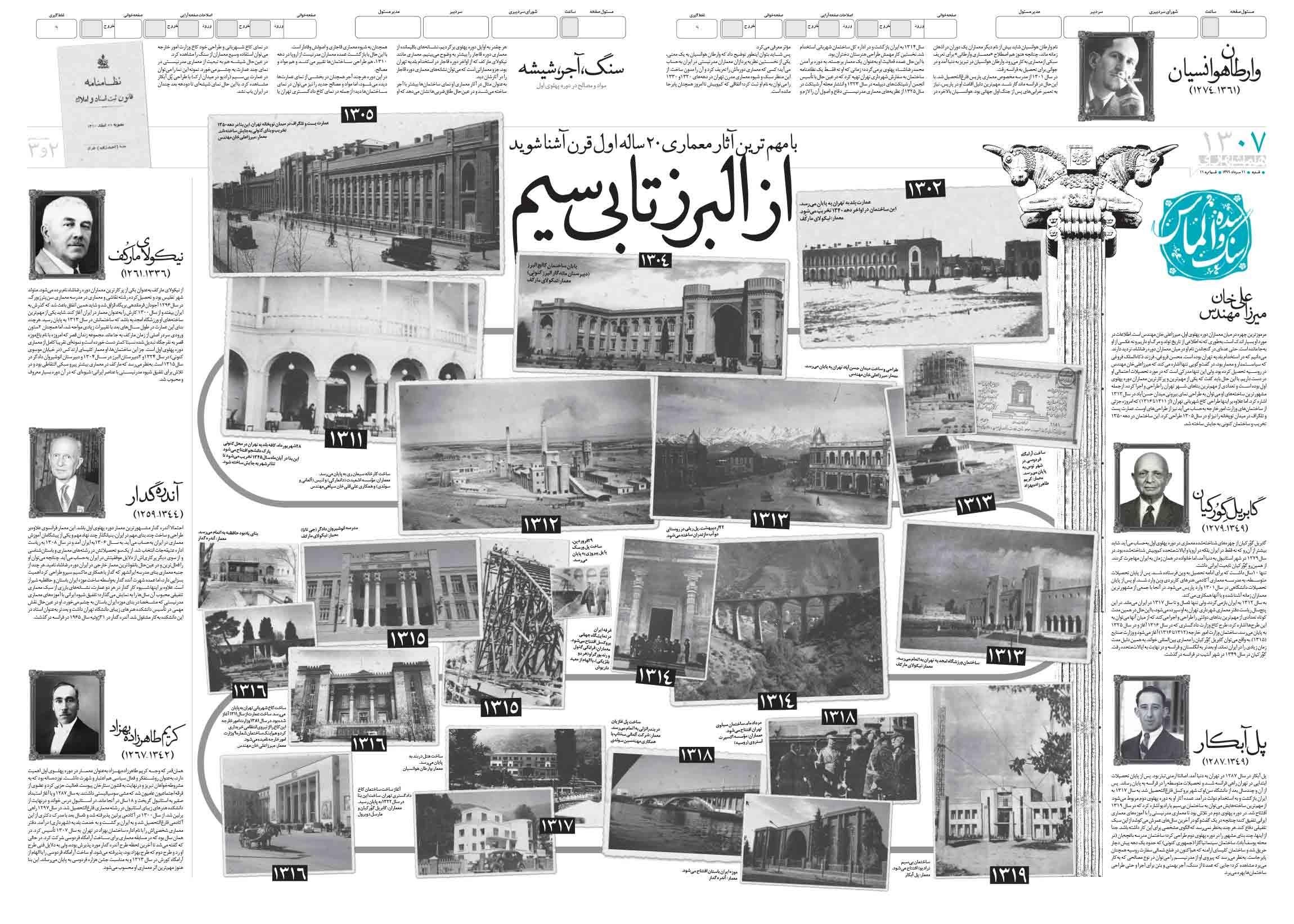 صفحات دوم و سوم قرن